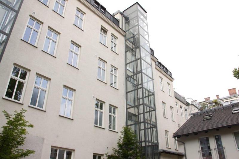 THERESIENGASSE, AKH-Nähe,  unbefristete 44 m2 Altbau-Garconniere,  Einzelwohnraum,  Komplettküche, Duschbad, Parketten /  / 1180Wien / Bild 8