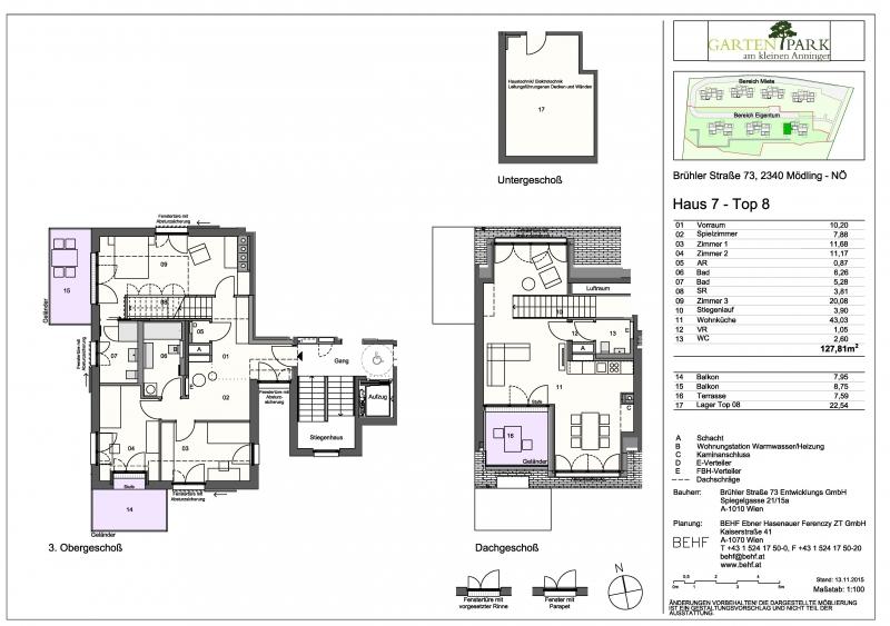 jpgcnt ---- Traumhafte Maisonette-Wohnung mit Ausblick /  / 2340Mödling / Bild 9