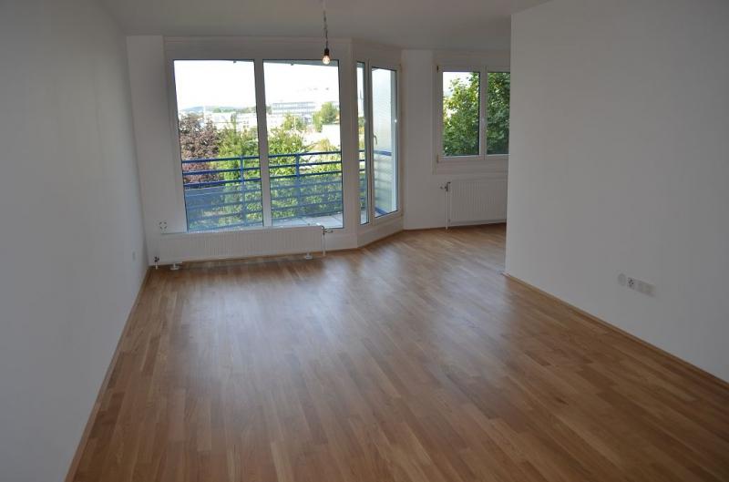AIGNERSTRASSE! ERSTBEZUG! SONNIGE 77 m2 NEUBAU INKLUSIVE 6 m2 LOGGIA, 2 Zimmer, Komplettküche, Wannenbad, Parketten; Ruhelage /  / 1200Wien / Bild 5