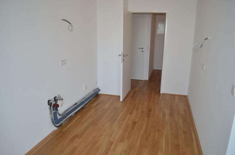 AIGNERSTRASSE! ERSTBEZUG! SONNIGE 77 m2 NEUBAU INKLUSIVE 6 m2 LOGGIA, 2 Zimmer, Komplettküche, Wannenbad, Parketten; Ruhelage /  / 1200Wien / Bild 8