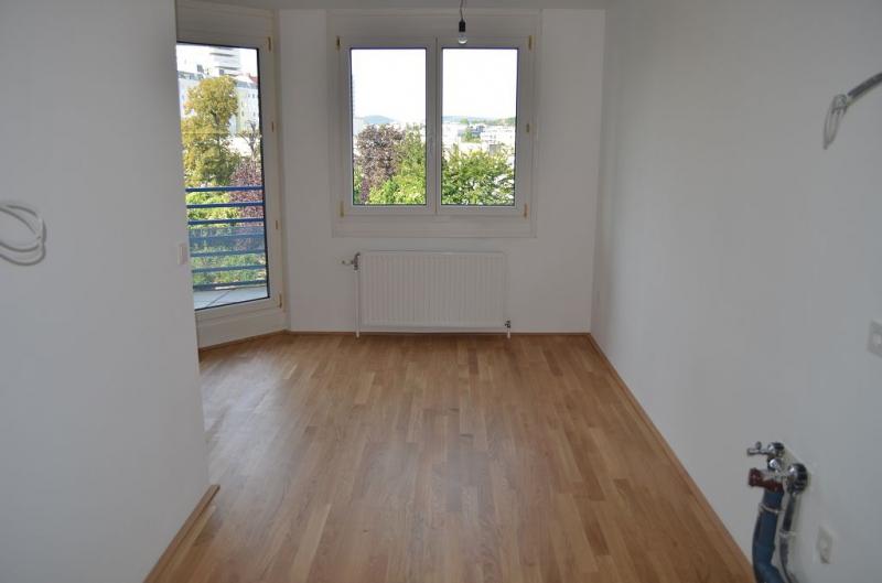 AIGNERSTRASSE! ERSTBEZUG! SONNIGE 77 m2 NEUBAU INKLUSIVE 6 m2 LOGGIA, 2 Zimmer, Komplettküche, Wannenbad, Parketten; Ruhelage /  / 1200Wien / Bild 9