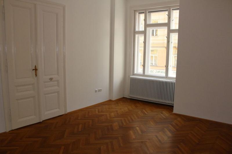WÄHRINGER STRASSE! Aumannplatz-Nähe, unbefristete 83 m2 Altbau, 2 Zimmer, 2er-WG-geeignet, Kabinett, Wohnküche, Wannenbad, Parketten,  /  / 1180Wien / Bild 3