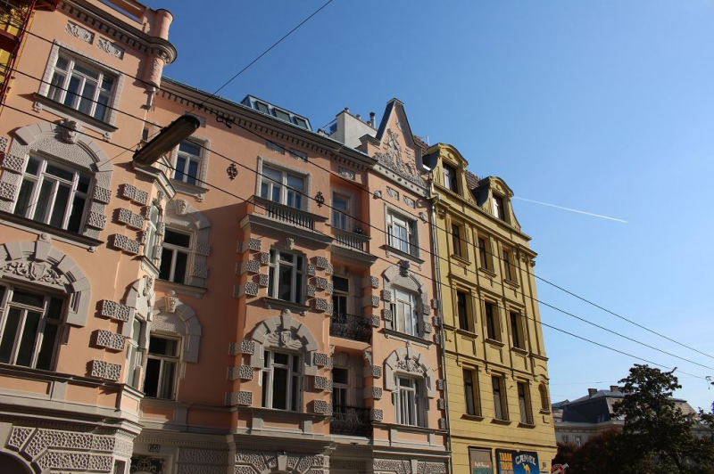 jpgcnt ---- ERSTBEZUG! DACHGESCHOSS! Währinger Strasse, unbefristetes 64 m2 Dachgeschoss mit 20 m2 Terrasse, 2 Zimmer, Komplettküche, Klimaanlage, Duschbad, Parketten, Ruhelage; /  / 0Wien / Bild 9