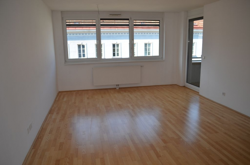 gbild -- FUZO-FAVORITENSTRASSE! U1-KEPLERPLATZ;  SONNIGE 66 m2 NEUBAU MIT 5 m2 LOGGIA, 2 Zimmer, Kochnische, Wannenbad, Parketten; Ruhelage /  / 1100Wien / Bild 1