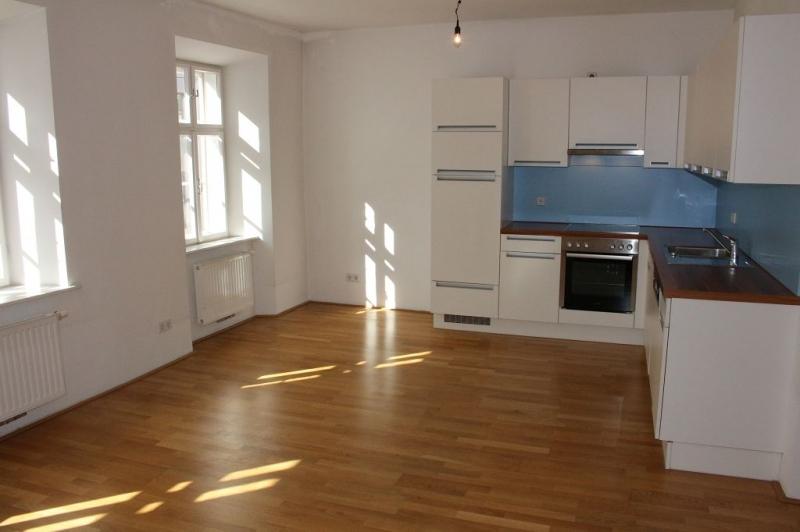 gbild -- PENZINGER STRASSE! unbefristete 60 m2 Altbau, Wohnzimmer mit Komplettküche, Schlafzimmer, Wannenbad, Parketten /  / 1140Wien / Bild 3