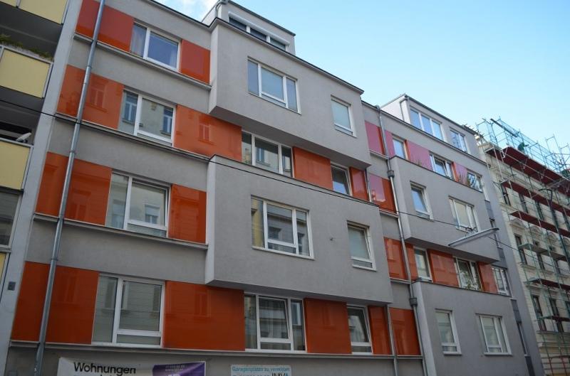 gbild -- HALBGASSE BEI BURGGASSE; TOPGEPFLEGTE 54 m2 NEUBAU MIT 5 m2 LOGGIA; 2 Zimmer, Kochnische, Wannenbad, Parketten;  /  / 0Wien / Bild 0