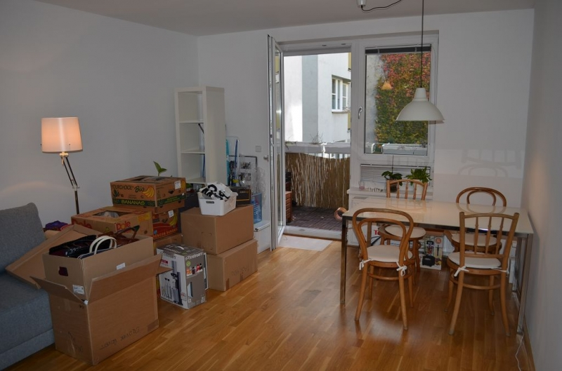 gbild -- HALBGASSE BEI BURGGASSE; TOPGEPFLEGTE 54 m2 NEUBAU MIT 5 m2 LOGGIA; 2 Zimmer, Kochnische, Wannenbad, Parketten;  /  / 0Wien / Bild 1