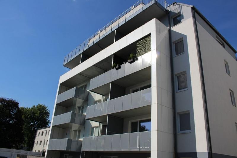 jpgcnt ---- ST. PÖLTEN! WIDERINSTRASSE, sonnige 70 m2 Neubau mit 9 m2 Loggia, 3 Zimmer, Komplettküche, Wannenbad, Parketten /  / 3100St. Pölten / Bild 2