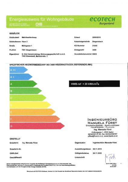 gbild -- Provisionsfreie, geförderte 3-Zimmer-Maisonette-Wohnung mit Eigentumsoption /  / 7551Stegersbach / Bild 4