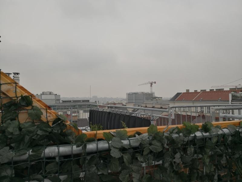Silvester auf der Dachterrasse