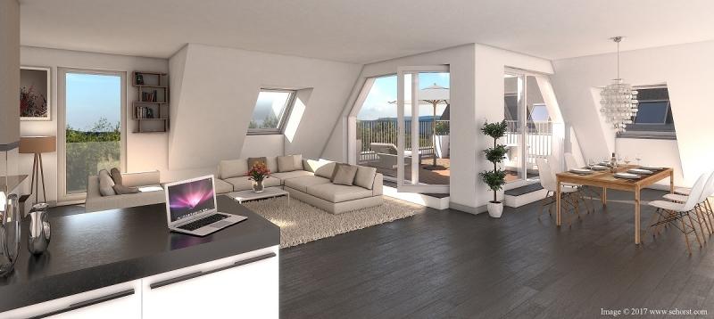 Exklusive Dachgeschoß-Wohnung in Brunn
