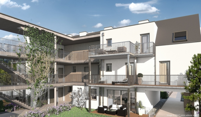 Zwei-Zimmer-Wohnung im Zentrum von Brunn am Gebirge