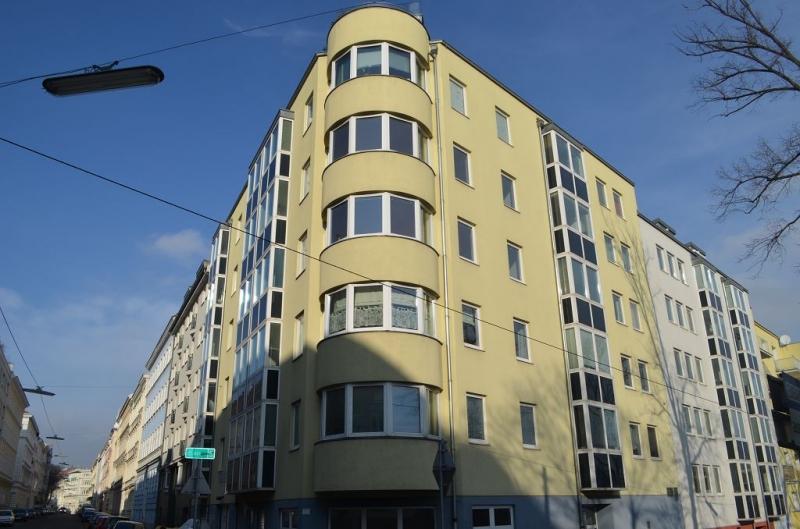 SCHUBERTPARK! SCHULGASSE - TESCHNERGASSE! 51 m2 Neubau,  2 Zimmer, Kochnische, Wannenbad; 3. Liftstock, sonnige Aussicht! /  / 1180Wien / Bild 1