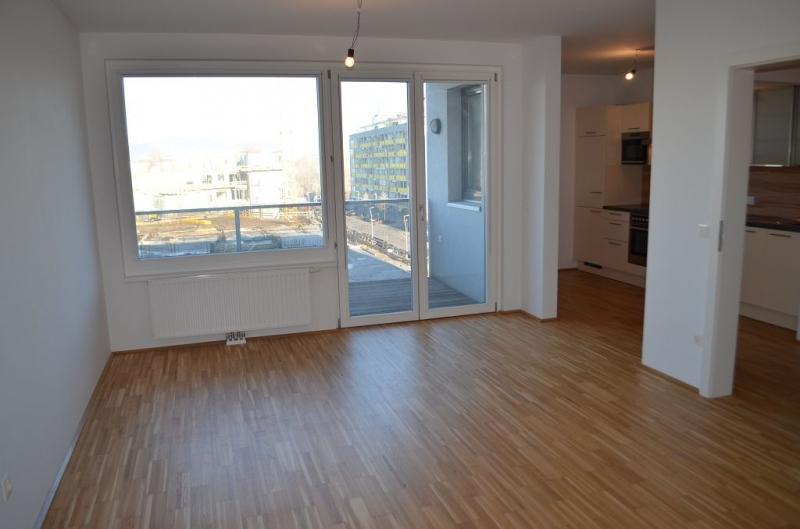 gbild -- LEYSTRASSE; topgepflegte 61 m2 Neubau mit 6 m2 Balkon, 2 Zimmer, Komplettküche; Wannenbad, Parketten; Garagenplatz möglich /  / 1020Wien / Bild 0