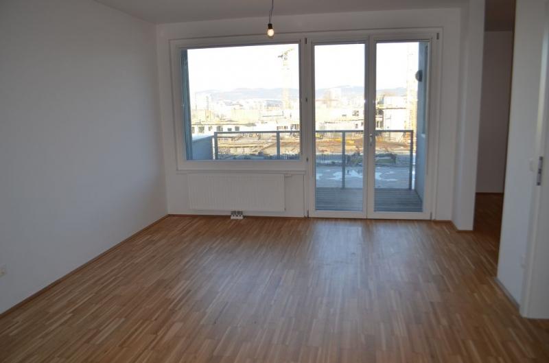 gbild -- LEYSTRASSE; topgepflegte 61 m2 Neubau mit 6 m2 Balkon, 2 Zimmer, Komplettküche; Wannenbad, Parketten; Garagenplatz möglich /  / 1020Wien / Bild 2