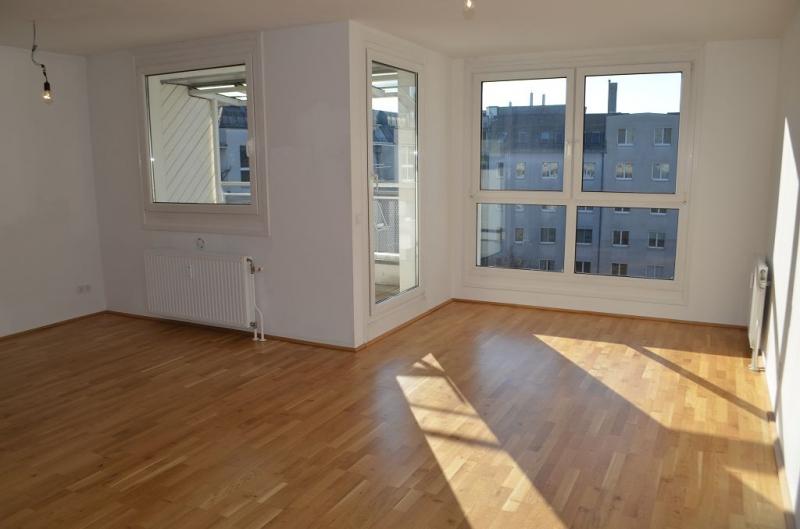 KORNHÄUSELGASSE! SONNIGE 95 m2 NEUBAU-MAISONETTE INKLUSIVE  5 m2 LOGGIA; Wohnzimmer, Kochnische, 2 Zimmer, Wannenbad, Parketten;