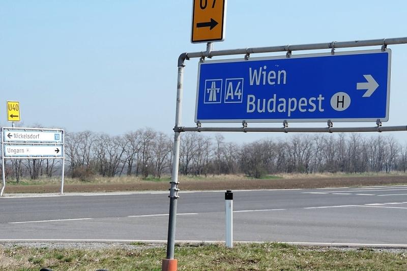 Gewerbegründe bei der Autobahnauffahrt Nickelsdorf