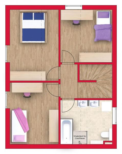 gbild -- Ziegelmassiv-Einfamilienhaus mit 101m² Wohnfläche, Vollunterkellerung, Gartenoase und 2 Parkplätzen (Eigengrund). Provisionsfrei! /  / 2434Götzendorf an der Leitha / Bild 5