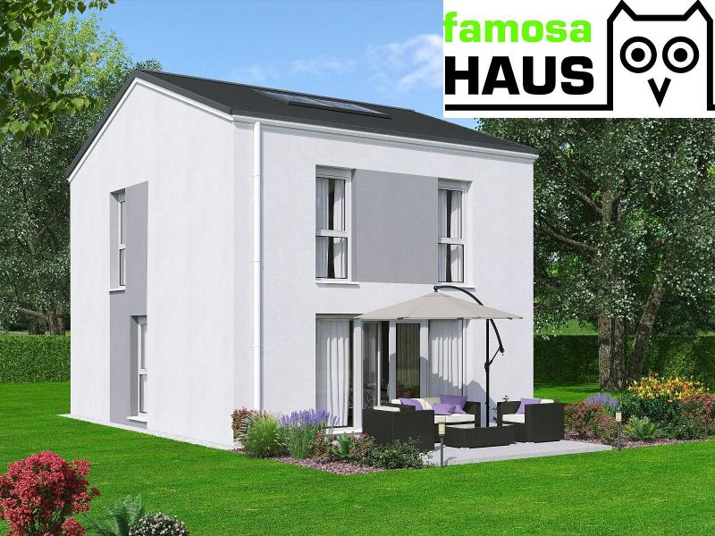 Ziegelmassive Doppelhaushäfte, vollunterkellert mit Gartenoase (Eigengrund) und 2 Parkplätzen. Provisionsfrei.