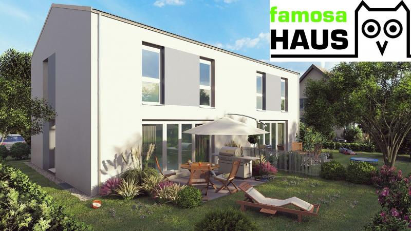 Vollunterkellertes Einzelhaus mit Terrasse, Eigengarten und 2 Parkplätzen. Provisionsfrei.