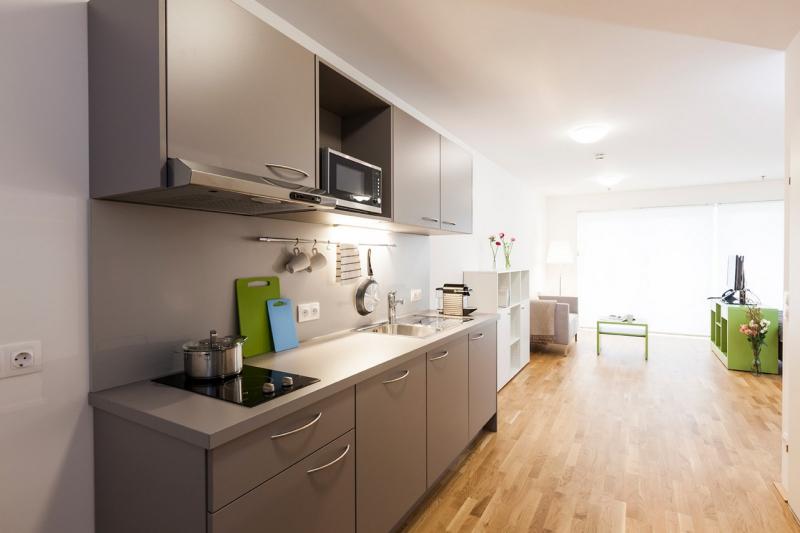room4rent Kurzzeit-Wohnen im Leopoldtower Standard