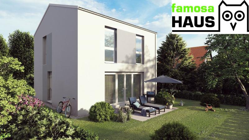 Wohnbaugefördertes Einzelhaus mit Vollkeller, Terrasse und Eigengrund samt 2 Parkplätzen. Provisionsfrei!