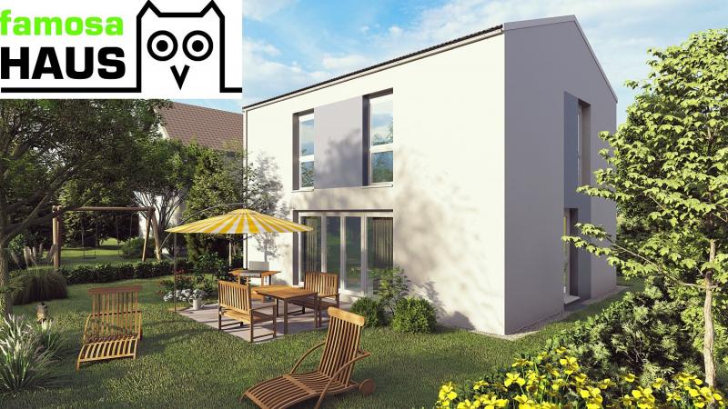 Ziegel-Massiv Einzelhaus: 101m² Wohnfläche, 54m² Keller, Terrasse und Eigengrund samt 2 Parkplätzen. Provisionsfrei!