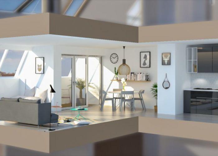 Grandios 2 Zimmer im herrlichen Dachgeschoss