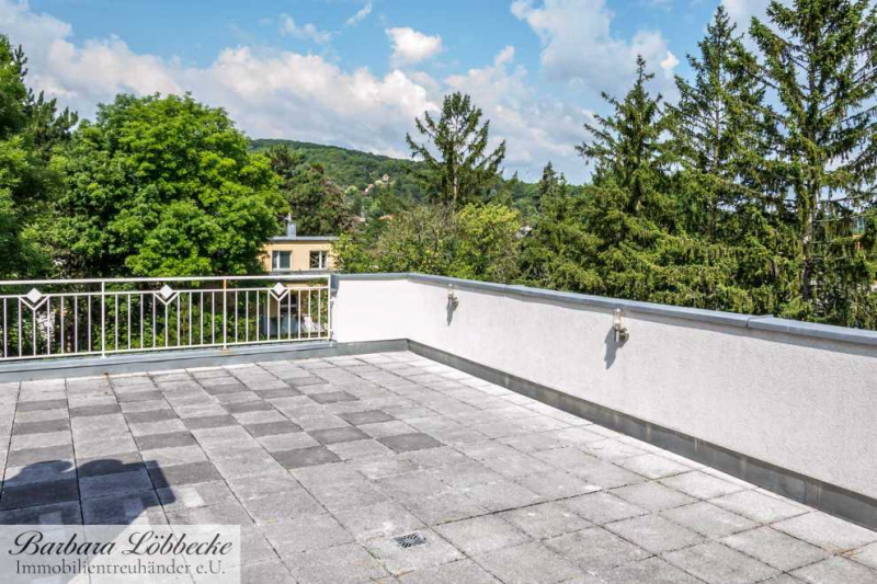 -10% Rabatt auf Provision - Traumhafte 142 m² DG-Wohnung zzgl. 70m² Terrasse & Fernsicht Nähe Roter Berg